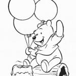Dibujos para colorear Winnie the Pooh