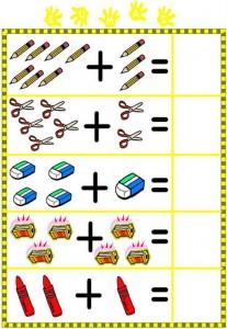 Ficha de sumas